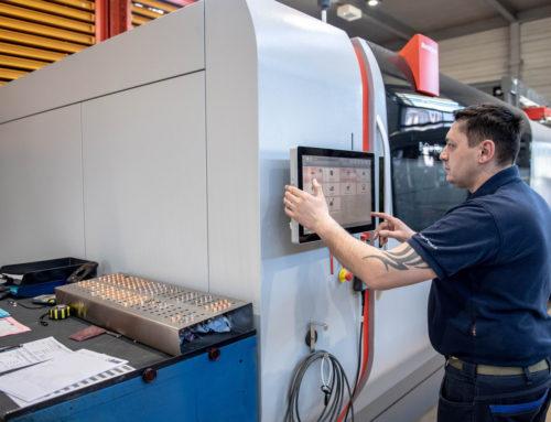 Bystronic – Neuer Maschinenpark in der Blechfertigung (Laser und Abkantpressen)